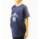 Koszulka chłopięca granatowa