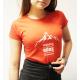Koszulka dziewczęca czerwona